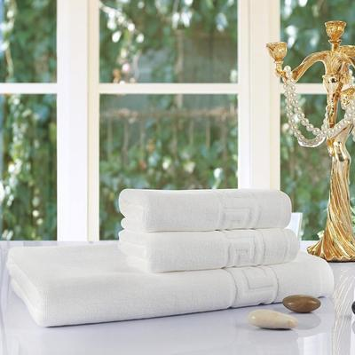 宾馆白 套巾:两毛一浴白色