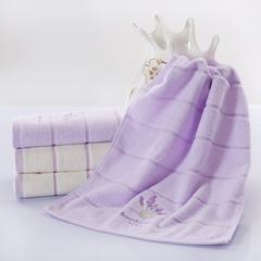 薰衣草毛巾 本白色