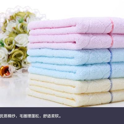 水立方毛巾 粉色