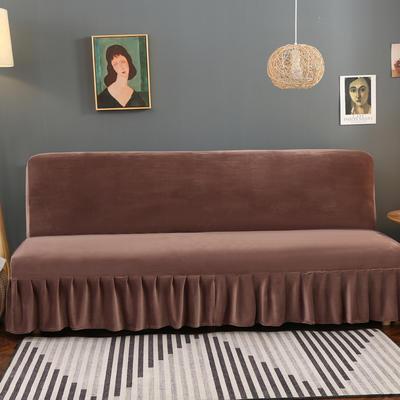 2020新款金貂绒裙边款沙发床套 120-140cm*100cm 大咖秀