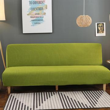 2020新款玉米绒无扶手沙发床套A款