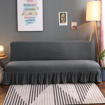 2020新款玉米绒裙边款沙发床套B款