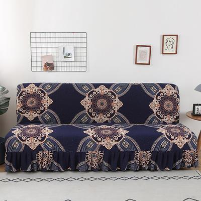 2020新款裙边款无扶手沙发床套B款 120-140cm*100cm 北欧经典