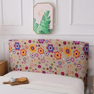 亏本清仓弹力全包床头罩 100*50cm 甜蜜花园