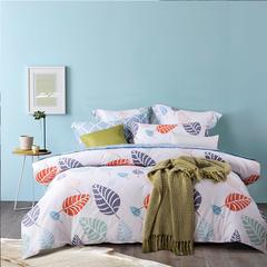 一生只做纯棉  超厚实手感纯棉四件套 1.5m(5英尺)床 唯美浪漫