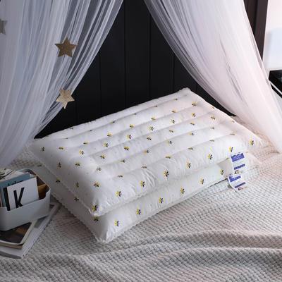仟佰盛家纺   2018新品小蜜蜂低枕系列枕芯枕头 小蜜蜂低枕系列枕芯