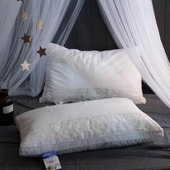 仟佰盛家纺   2018新品全棉蕾丝天丝纤维枕头枕芯 全棉蕾丝天丝纤维枕