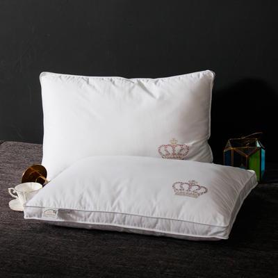 2020新款皇冠系列羽丝绒枕头枕芯 皇冠系列羽丝绒枕48x74