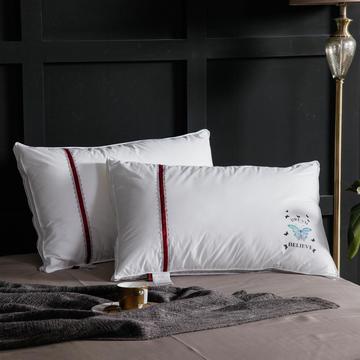 2020新款羽丝绒枕-蝴蝶枕