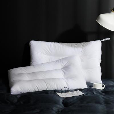 2019新款白布水洗枕 白色48*74cm