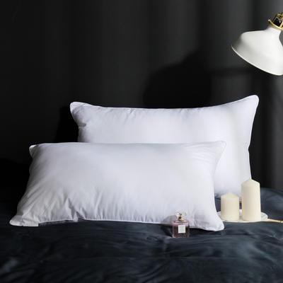 2020新款单边白布枕 白色48x74cm