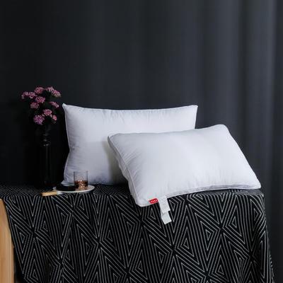 2019新款立体白布枕 白色48*74cm高枕