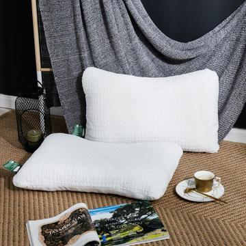 2019新款针织睡乳胶枕