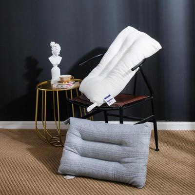 2019新款针织定型软枕 灰色48*74cm