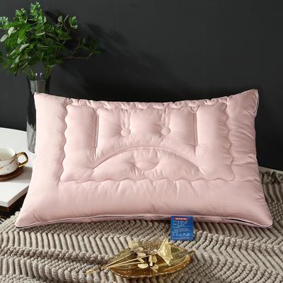 2019新款高科技防弹簧拉链款枕头枕芯 粉色