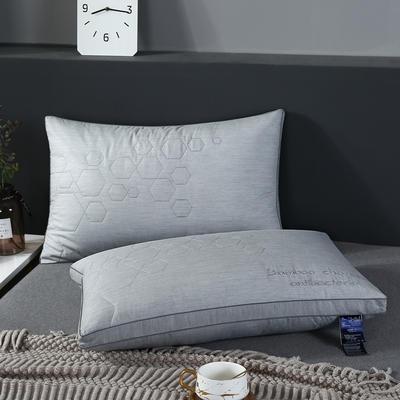 2019新款黑竹炭软枕枕头枕芯-48*74cm/个 黑竹炭软枕