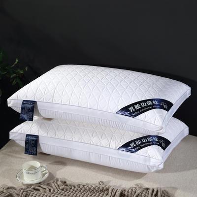 2020新款格子功能乳胶枕-48*74cm 格子功能枕