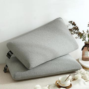 2020新款灰色进口零压力记忆枕 - 48*74cm/个