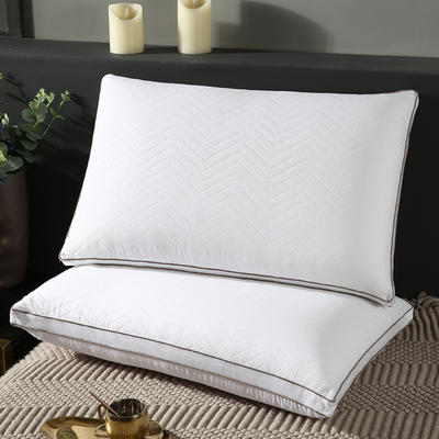 2020新款超柔水洗枕羽丝绒枕-48*74cm/个 水洗枕羽丝绒枕