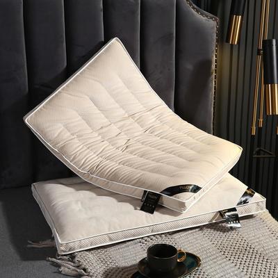 2020新款羽丝绒枕头枕芯-48*74cm/只 羽丝绒枕芯-白色