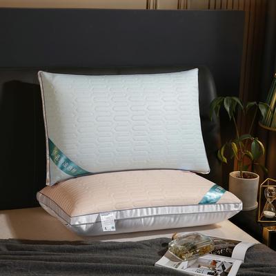 2021新款乳胶凉感丝枕48*74cm/个 玉色