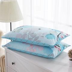 单品系列 全棉13070单品枕套2017新增花型 48*74cm/对 如梦令
