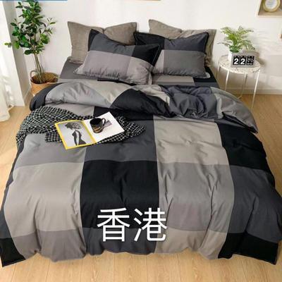 2019新款全棉四件套 1.8m床单款 香港
