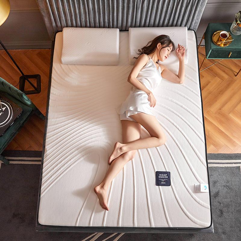 2020新款300克浮雕针织棉乳胶功能床垫