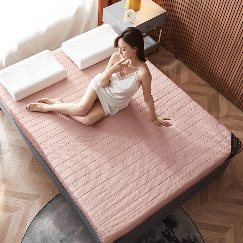 2020新款提花针织棉乳胶功能床垫 200*220cm 乳胶K03-8