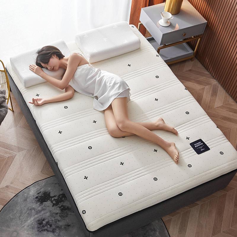 2020新款针织绣花纱布乳胶功能床垫 200*220cm 乳胶K04-1
