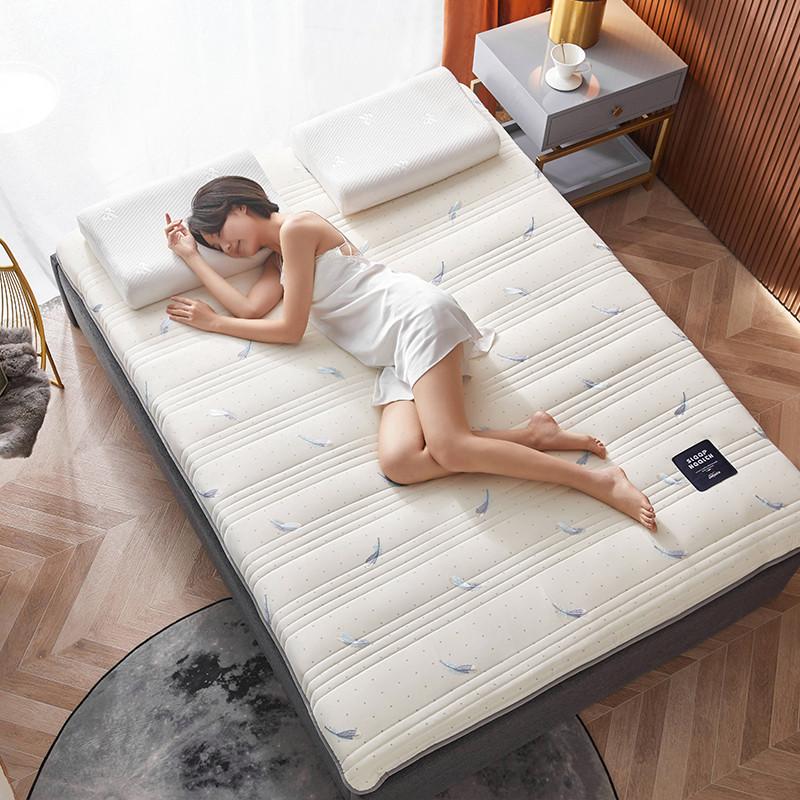 2020新款针织绣花纱布乳胶功能床垫 200*220cm 乳胶K04-3