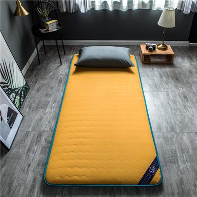 2020新款洛卡棉抗菌功能学生床垫 90*200cm 鹅黄色