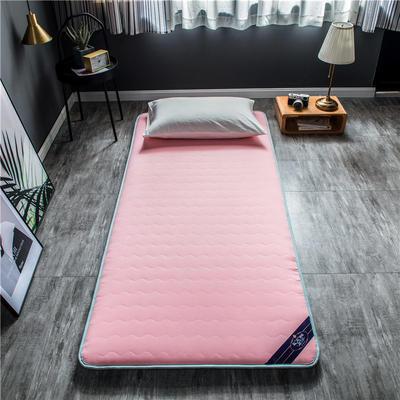 2020新款洛卡棉抗菌功能学生床垫 90*200cm 桃粉色