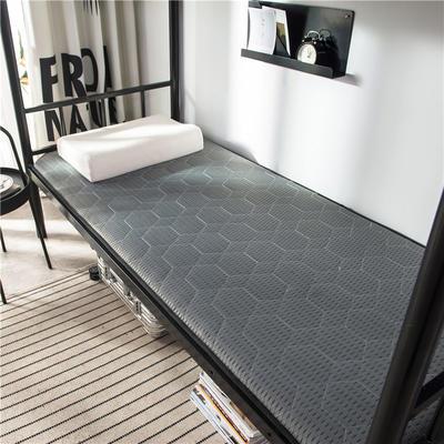 2020新款竹炭纤维功能床垫 小 90*200cm 鸽灰