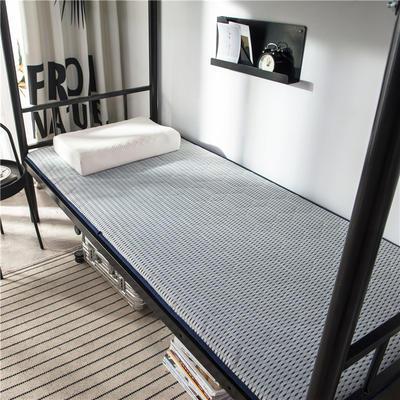 2020新款竹炭纤维功能床垫 小 90*200cm 浅灰