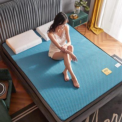 2020新款300克浮雕针织棉乳胶功能床垫 90*200cm 乳胶K02-06    厚度7cm记忆棉