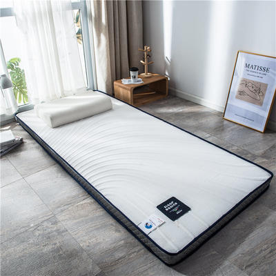 2020新款泰国天然300克浮雕针织棉乳胶功能床垫 90*200cm 川奈(厚度4cm记忆棉)
