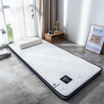 2020新款泰国天然300克浮雕针织棉乳胶功能床垫 90*200cm 时样锦(厚度4cm记忆棉)