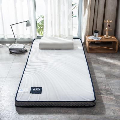 2020新款泰国天然300克浮雕针织棉乳胶功能床垫 90*200cm 川奈(厚度7cm记忆棉)