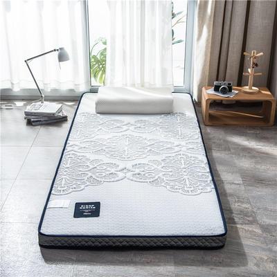 2020新款泰国天然300克浮雕针织棉乳胶功能床垫 90*200cm 花语(厚度7cm记忆棉)