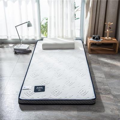2020新款泰国天然300克浮雕针织棉乳胶功能床垫 90*200cm 时样锦(厚度7cm记忆棉)