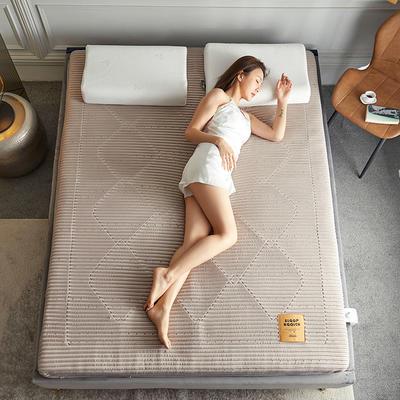 2020新款镂空高密针织棉乳胶功能床垫 90*200cm 乳胶K01-1( 厚度6cm)