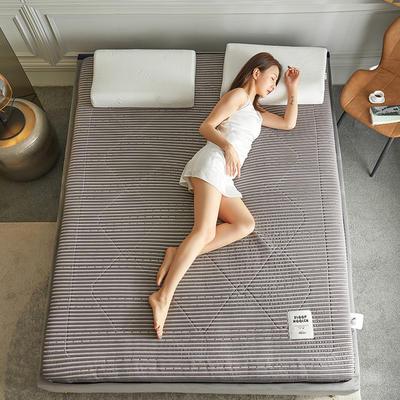 2020新款镂空高密针织棉乳胶功能床垫 90*200cm 乳胶K01-2( 厚度6cm)