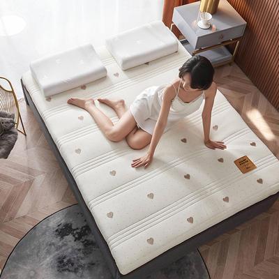 2020新款针织绣花纱布乳胶功能床垫 90*200cm 乳胶K04-2(厚度9cm)