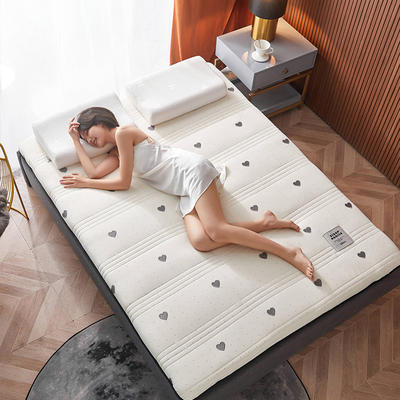 2020新款针织绣花纱布乳胶功能床垫 90*200cm 乳胶K04-5(厚度9cm)