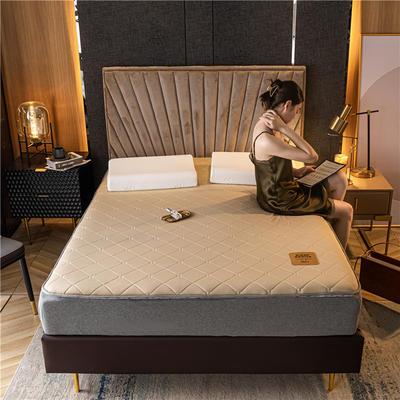 2020新款针织贡棉乳胶床垫 90*190cm 棕黄