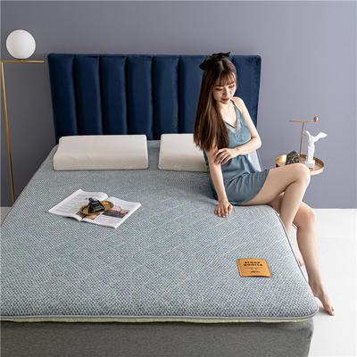 2020新款羊毛科技床垫 90*190cm 浅豆绿