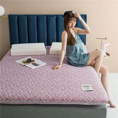 2020新款羊毛科技床垫 90*190cm 紫粉