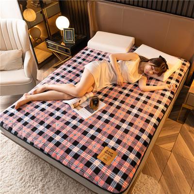 2020新款德绒科技床垫 90*190cm 粉格