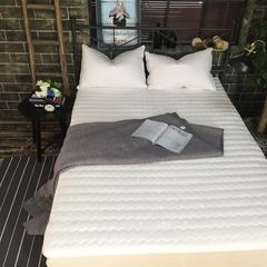 源素家居    床褥床垫   乳胶床垫   (高10cm) 0.9m*2.0m 白